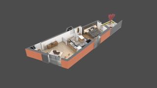 appartement 01 de type T2