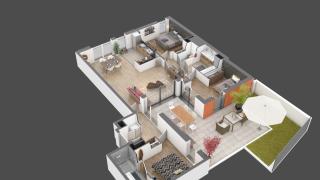 appartement 04 de type T4