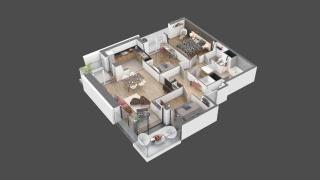 appartement 10 de type T4