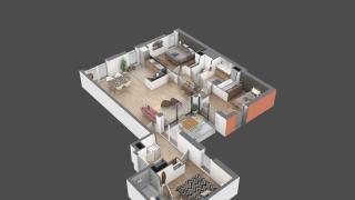 appartement 16 de type T4