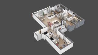 appartement 18 de type T4