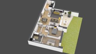 appartement A702 de type 3 pièces