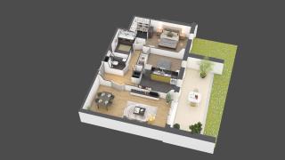 appartement A704 de type 3 pièces