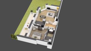 appartement A903 de type 2 pièces