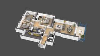 appartement B005 de type 4 pièces