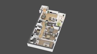 appartement B702 de type 4 pièces