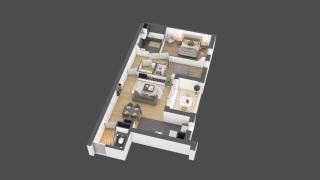 appartement B803 de type T3