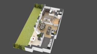 appartement B903 de type 2 pièces